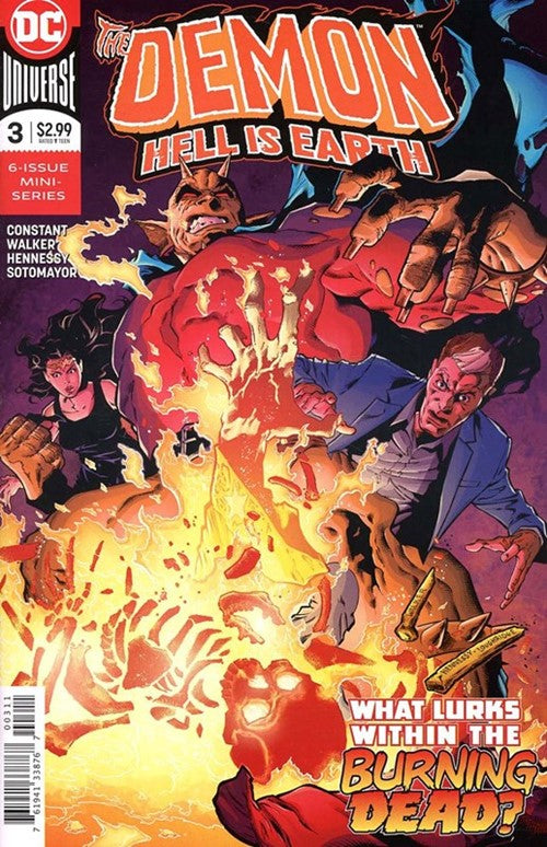 Demon Hell is Earth (2017 DC) #3