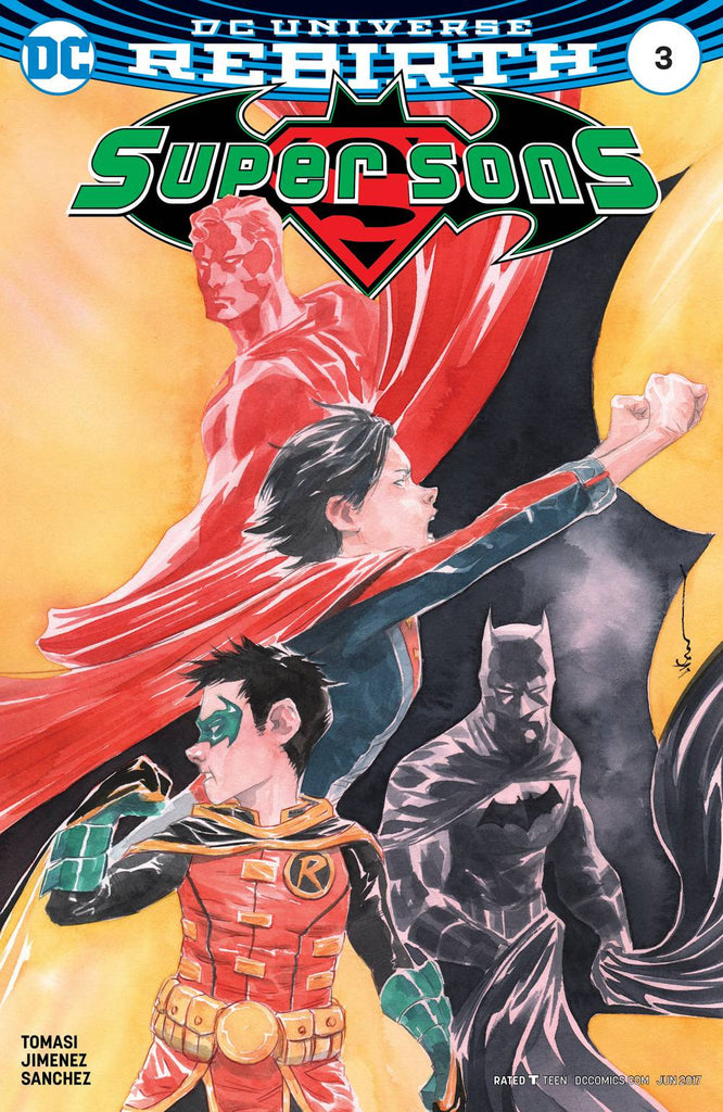 SUPER SONS #3 VAR ED