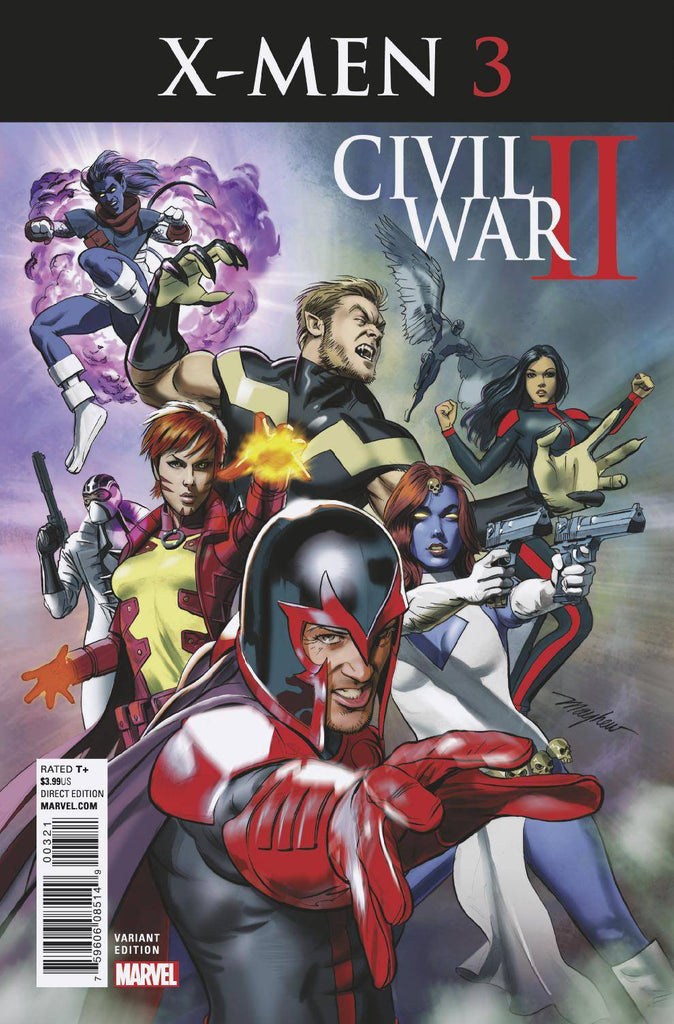 CIVIL WAR II X-MEN #3 (OF 4) MAYHEW VAR