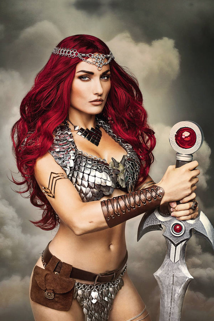 RED SONJA #3 CVR F 10 COPY COSPLAY VIRGIN INCV