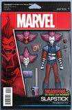DEADPOOL MERCS FOR MONEY (1st mini-series) #4 (OF 5) CHRISTOPHER ACTION FIGURE