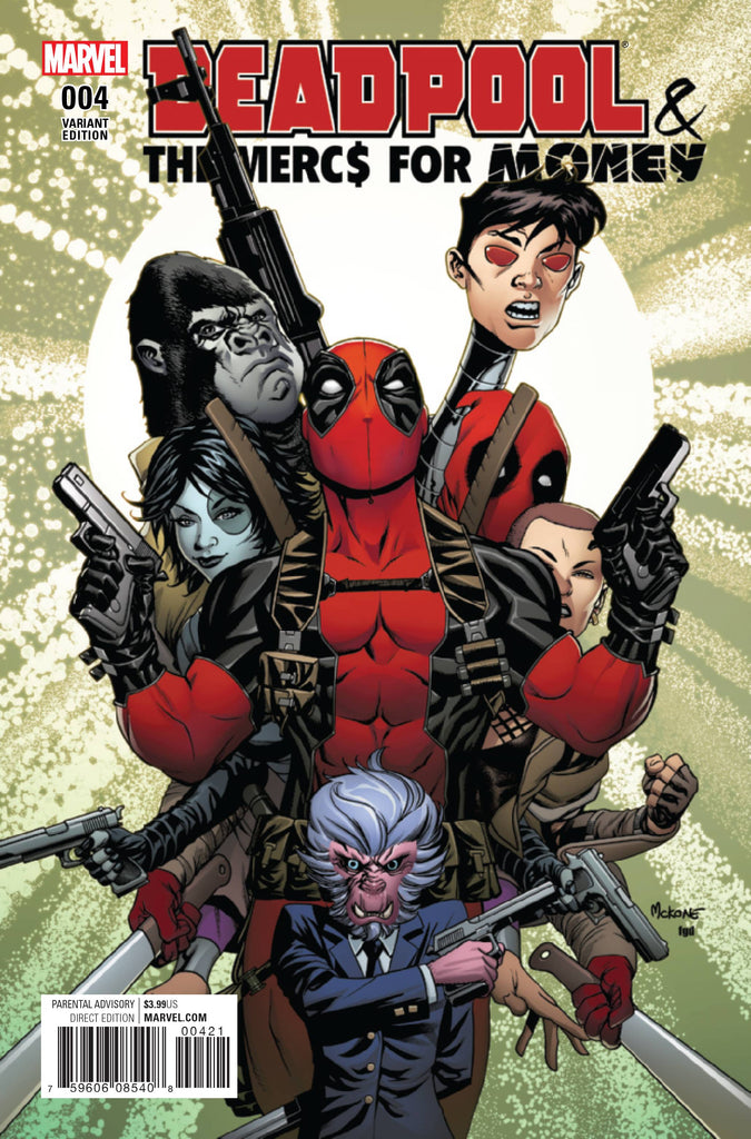 DEADPOOL AND MERCS FOR MONEY #4 MCKONE VAR