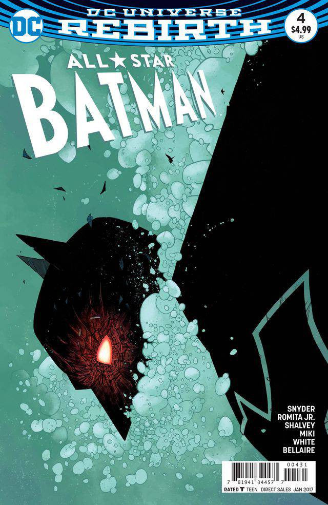 ALL STAR BATMAN #4 SHALVEY VAR ED