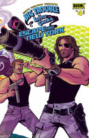 BIG TROUBLE LITTLE CHINA ESCAPE NEW YORK #4 WRAPAROUND CVR