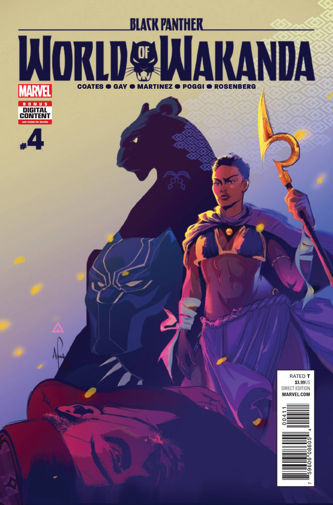BLACK PANTHER WORLD OF WAKANDA #4