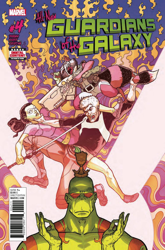 ALL NEW GUARDIANS OF GALAXY #4 (VF)