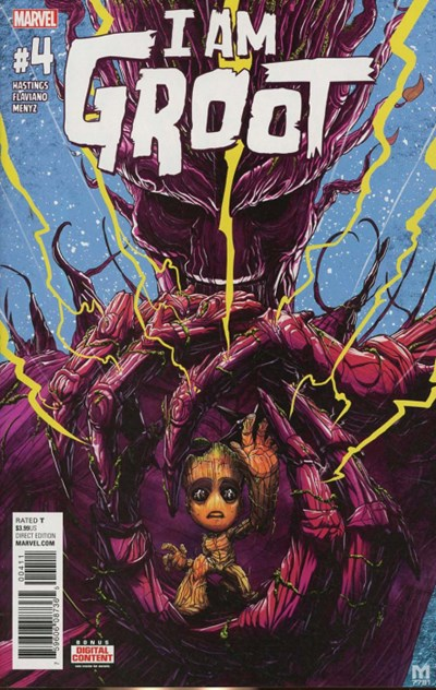 I Am Groot (2017 Marvel) #4A