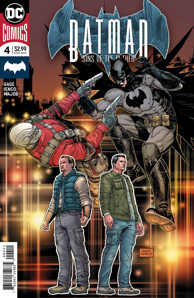 BATMAN SINS OF THE FATHER #4 (OF 6)