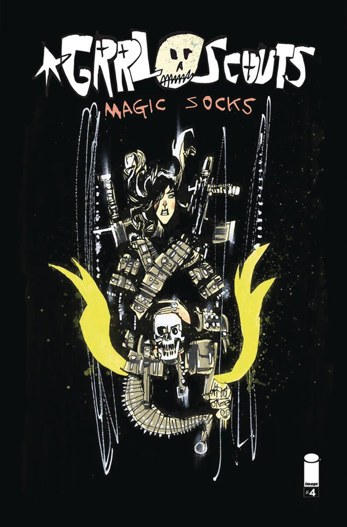 Grrl Scouts Magic Socks (2017 Image) #4A (FN)