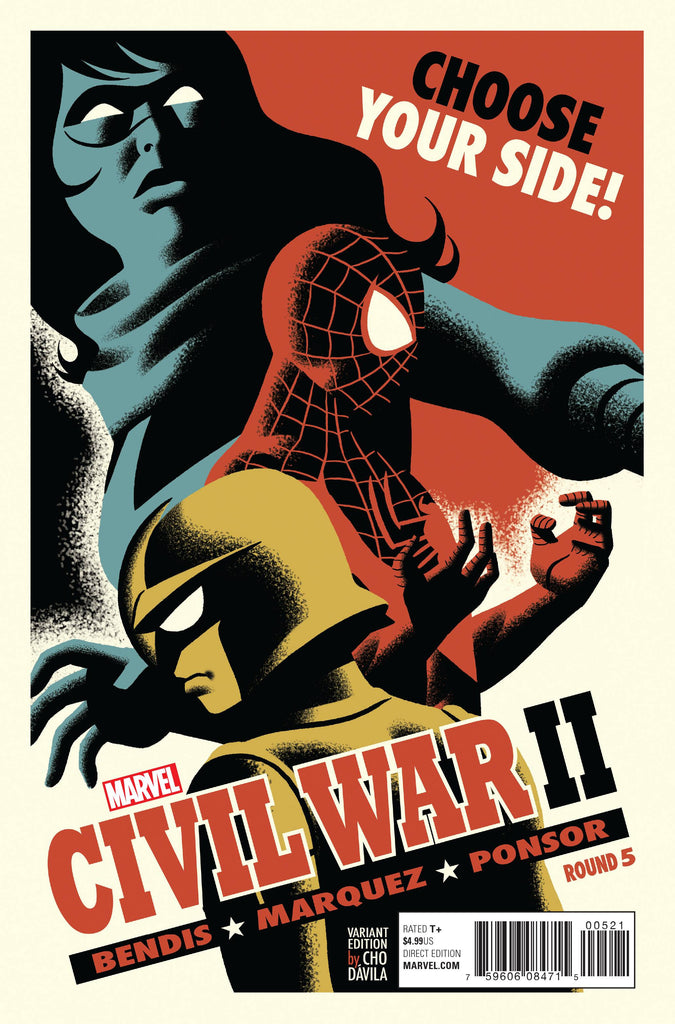 CIVIL WAR II #5 (OF 8) MICHAEL CHO VAR