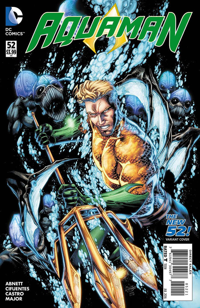 AQUAMAN VOL. 7 #52 VAR ED
