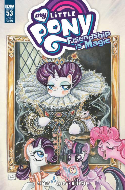 MY LITTLE PONY FRIENDSHIP IS MAGIC #53 SUBSCRIPTION VAR