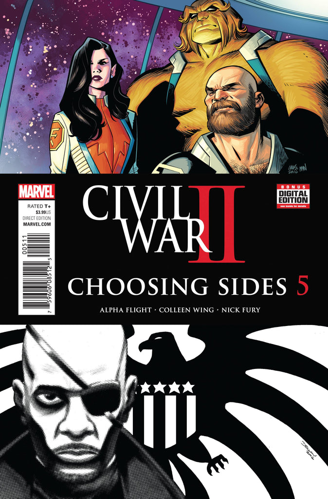 CIVIL WAR II CHOOSING SIDES #5 (OF 6)