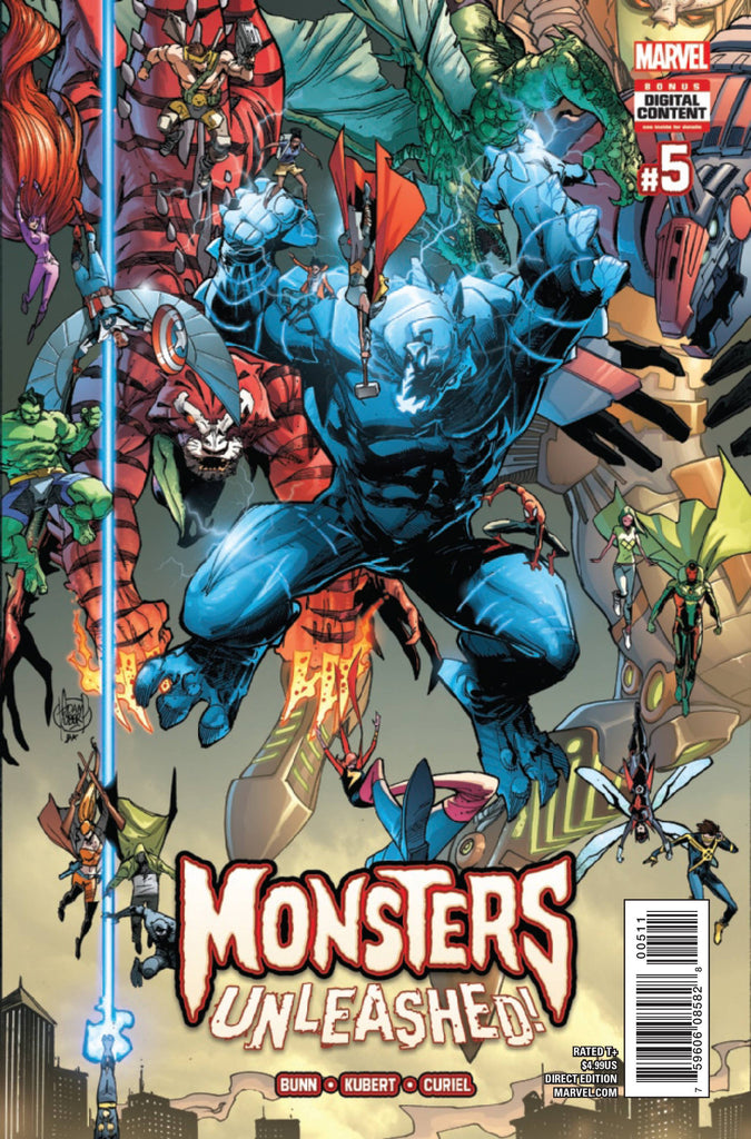 MONSTERS UNLEASHED #5 (OF 5)