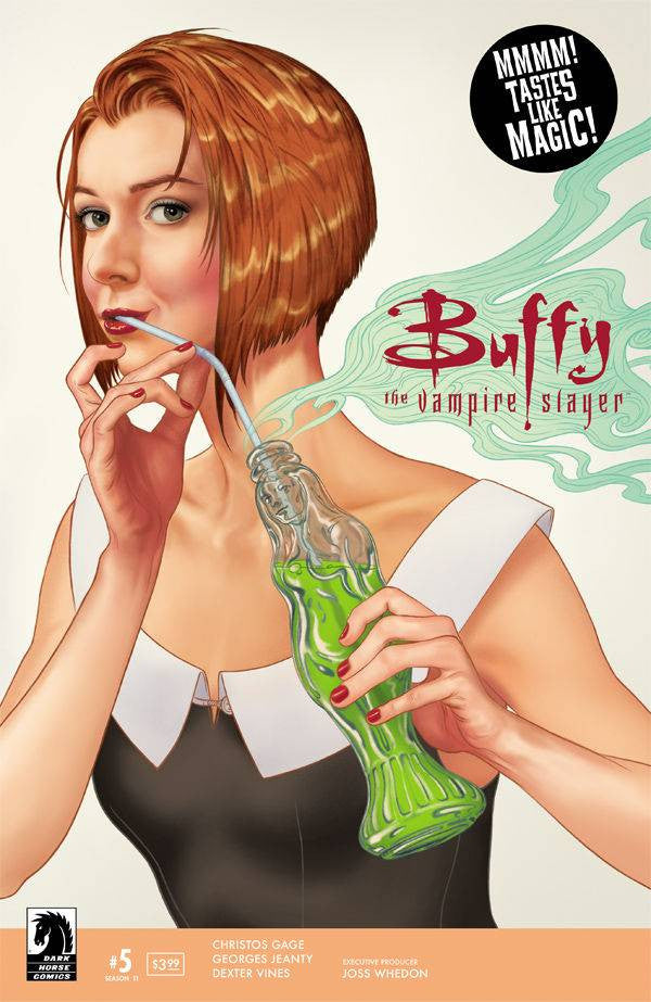BUFFY THE VAMPIRE SLAYER BTVS SEASON 11 #5 MAIN MORRIS CVR