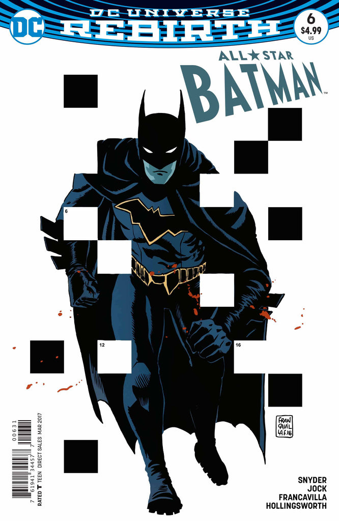 ALL STAR BATMAN #6 FRANCAVILLA VAR ED