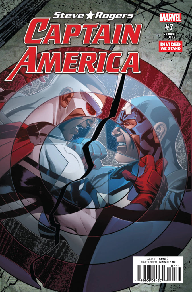 CAPTAIN AMERICA STEVE ROGERS #7 DIVIDED WE STAND VAR NOW