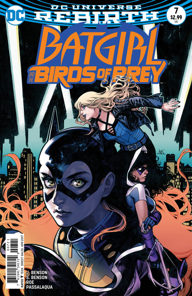 BATGIRL AND THE BIRDS OF PREY #7 VAR ED