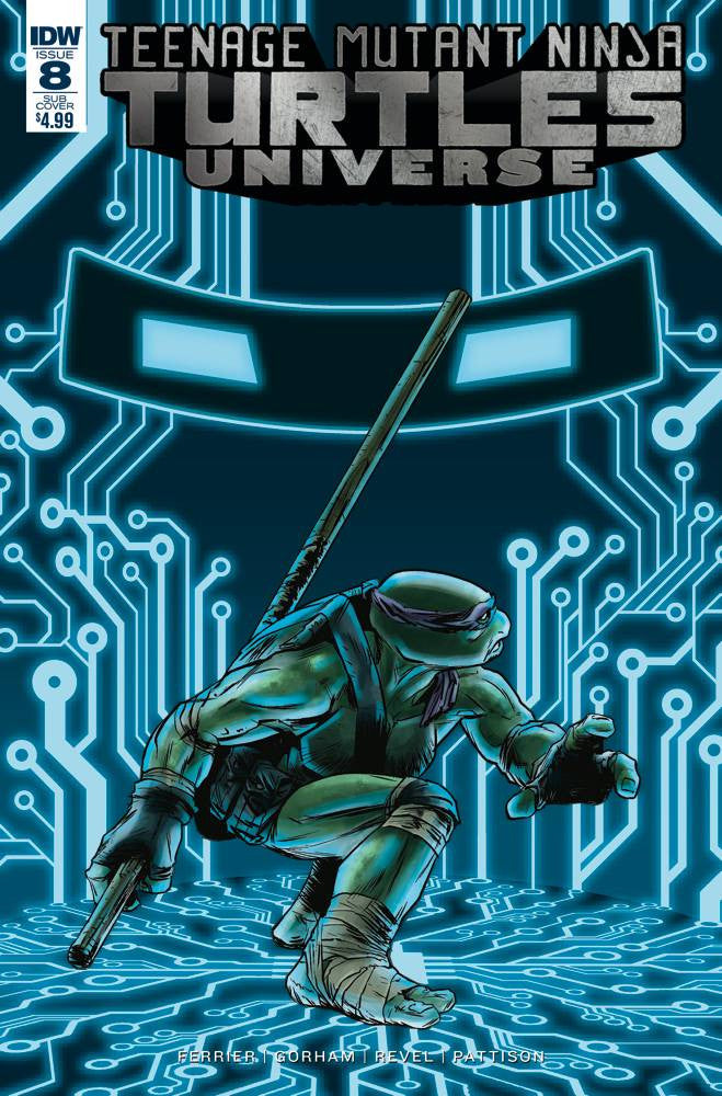 TMNT UNIVERSE #8 SUBSCRIPTION VAR