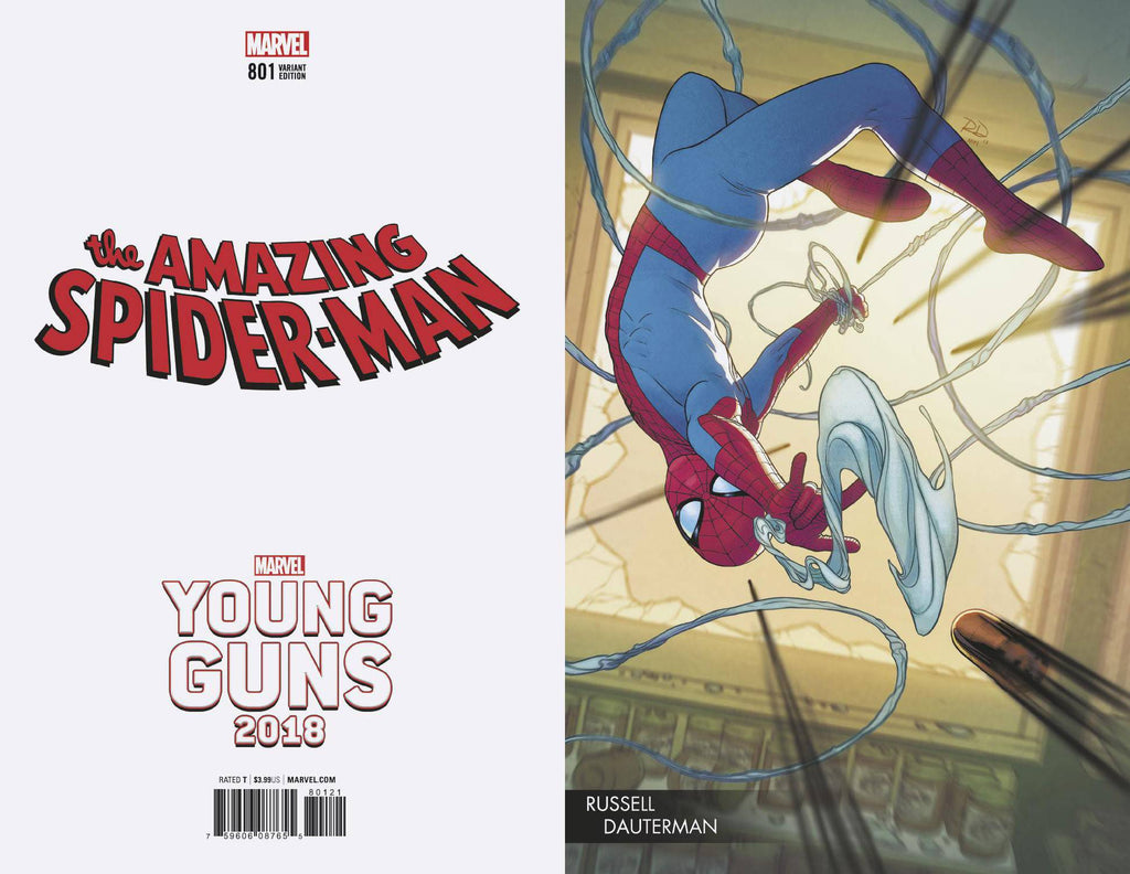 AMAZING SPIDER-MAN #801 DAUTERMAN YOUNG GUNS VAR
