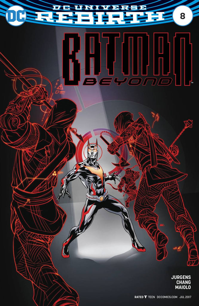 BATMAN BEYOND #8 VAR ED