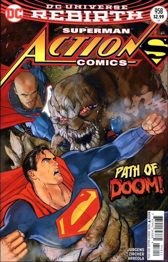 ACTION COMICS #958 2ND PTG