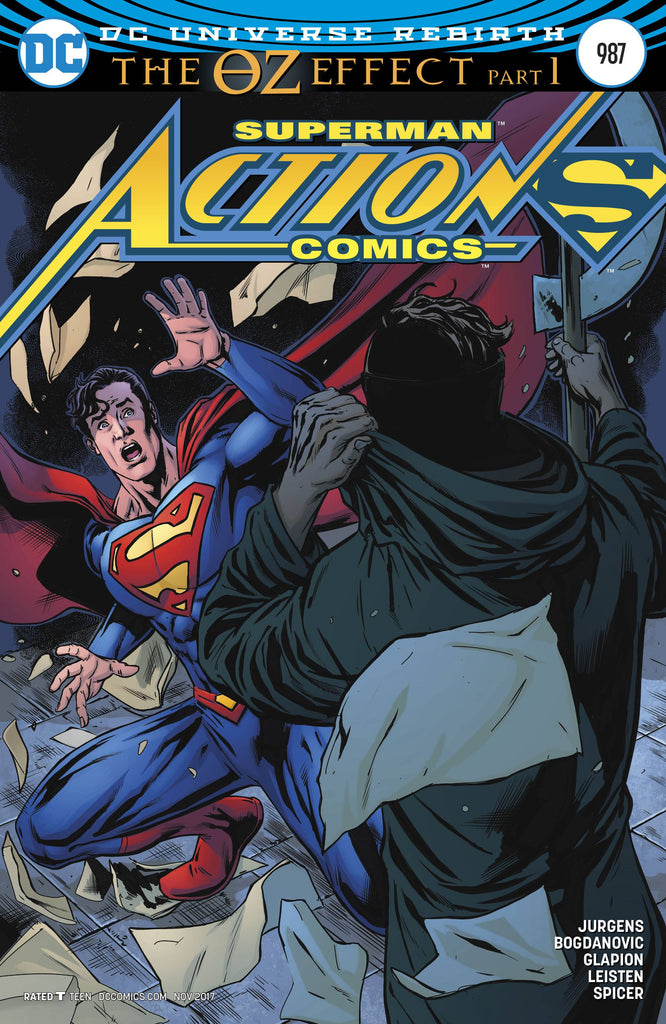ACTION COMICS #987 VAR ED (OZ EFFECT)