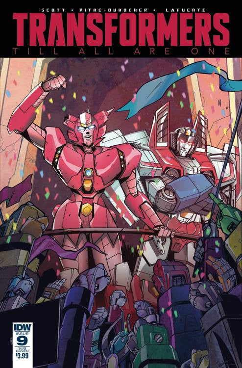 TRANSFORMERS TILL ALL ARE ONE #9 SUBSCRIPTION VAR