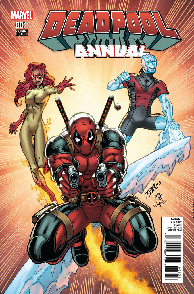 DEADPOOL (Vol. 5) ANNUAL #1 LIM VAR