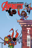 ALL NEW ALL DIFFERENT AVENGERS ANNUAL #1 YOUNG VAR