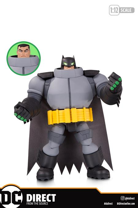 BATMAN: THE ADVENTURES CONTINUE SUPER ARMOR BATMAN ACTION FIGURE