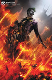 BATMAN #95 CARD STOCK F MATTINA VAR ED JOKER WAR