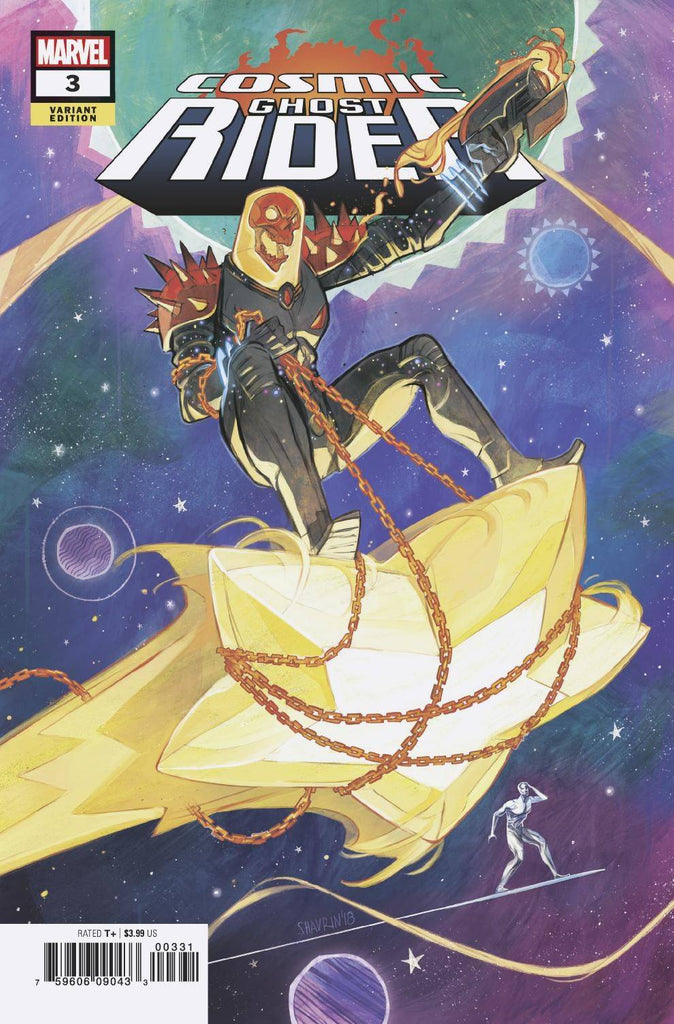 COSMIC GHOST RIDER #3 (OF 5) SHAVRIN VARIANT