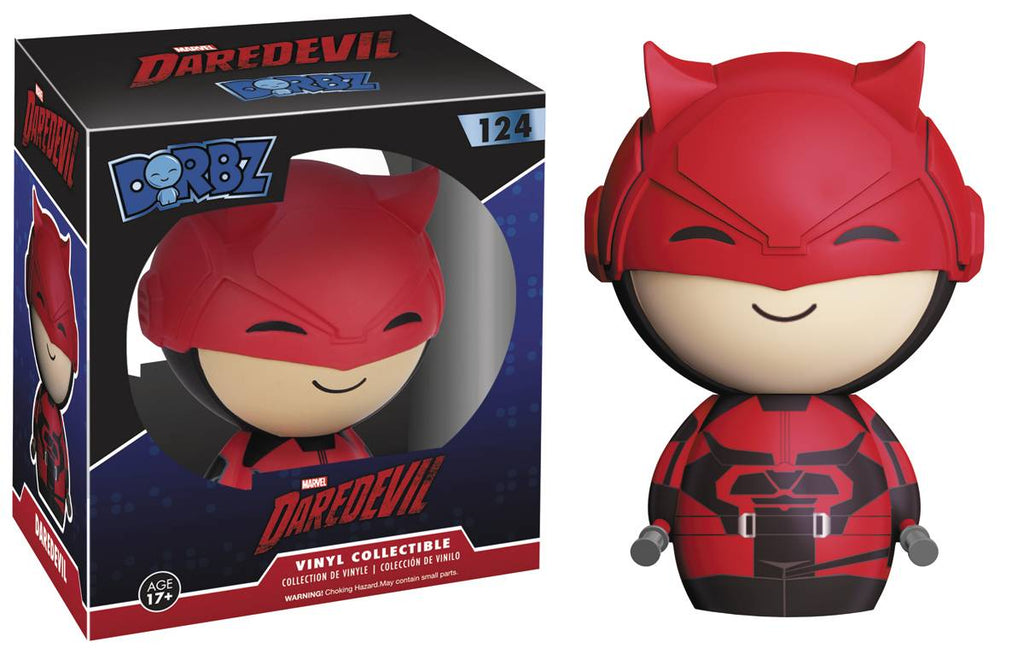DORBZ DAREDEVIL TV DAREDEVIL VINYL FIG