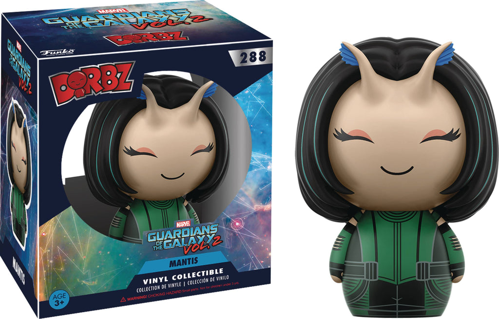 DORBZ GUARDIANS OF THE GALAXY VOL2 MANTIS VINYL FIG