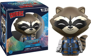 DORBZ GUARDIANS OF THE GALAXY VOL2 ROCKET RACCOON VINYL FIG
