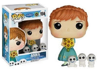 POP FROZEN FEVER ANNA VINYL FIG
