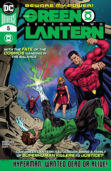 GREEN LANTERN SEASON 2 #5 (OF 12)