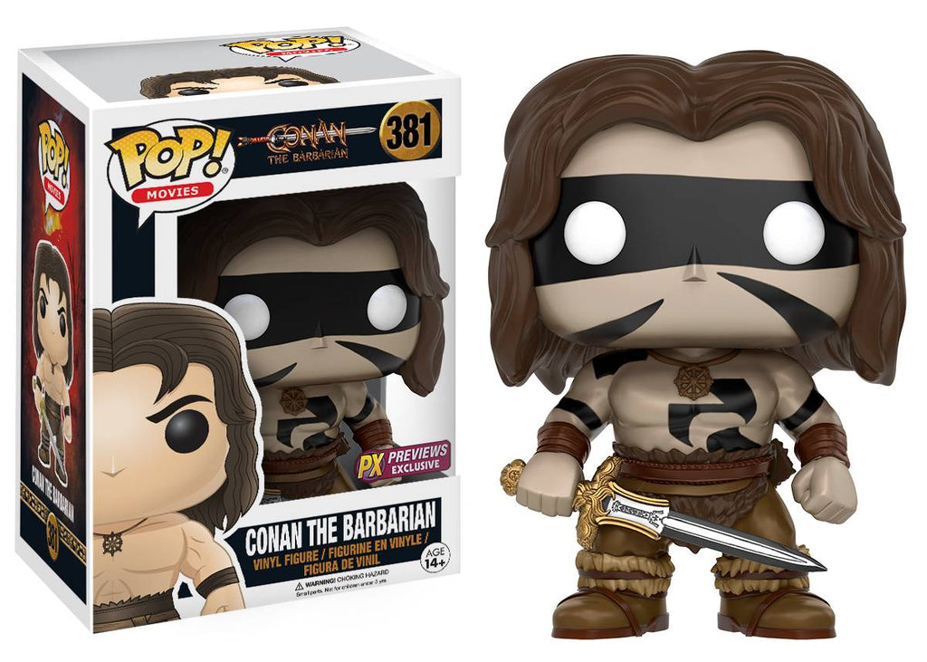 POP CONAN THE BARBARIAN CONAN WARPAINT PX VINYL FIGURE
