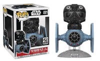 POP DELUXE STAR WARS TIE FIGHTER W/TIE PILOT VINYL FIG (Damaged Box)