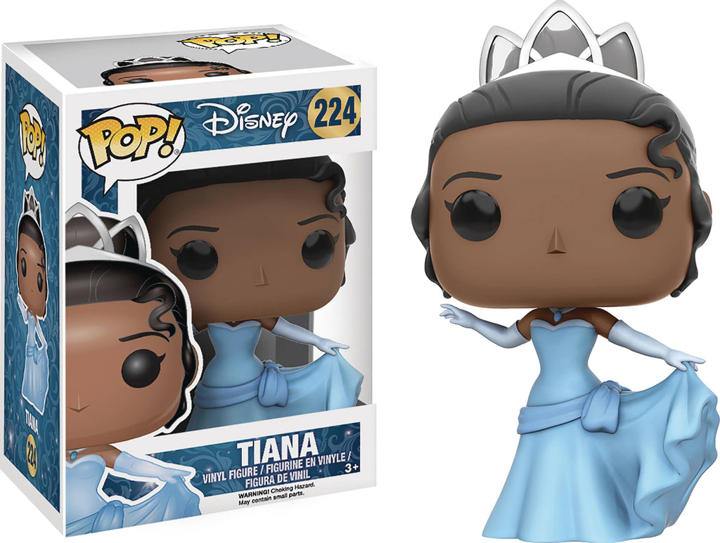 POP DISNEY PRINCESS & THE FROG TIANA VINYL FIG (Damaged Box)