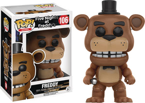 POP FIVE NIGHTS AT FREDDYS FREDDY VINYL FIG