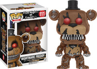 POP FIVE NIGHTS AT FREDDYS NIGHTMARE FREDDY VINYL FIG