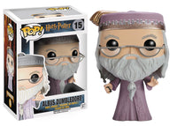 POP HARRY POTTER DUMBLEDORE WAND VINYL FIG