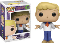 POP SCOOBY DOO FRED VINYL FIG