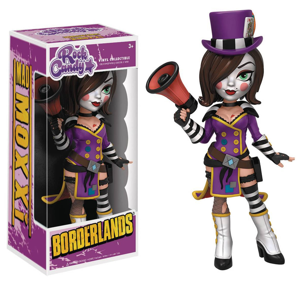 ROCK CANDY BORDERLANDS MAD MOXXI FIG