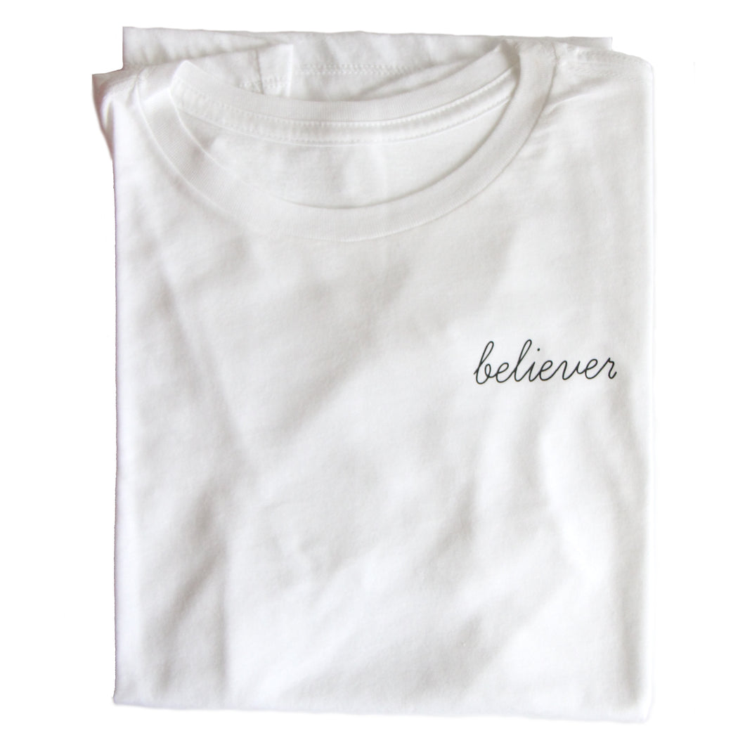 BELIEVER WOMEN'S TEE