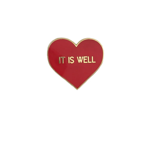 IT IS WELL ENAMEL PIN