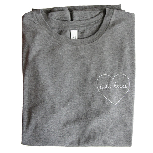 TAKE HEART WOMEN'S TEE