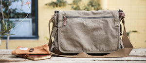 canvas messenger bag 30622